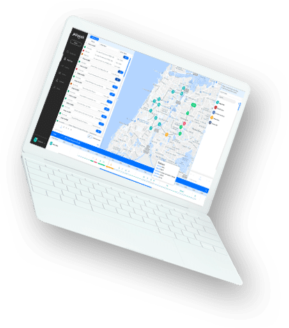 delivery software laptop